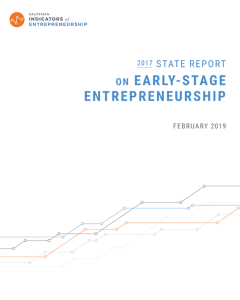 2017 State Report on Early-Stage Entrepreneurship | Kauffman Indicators