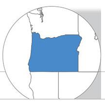 Oregon state icon